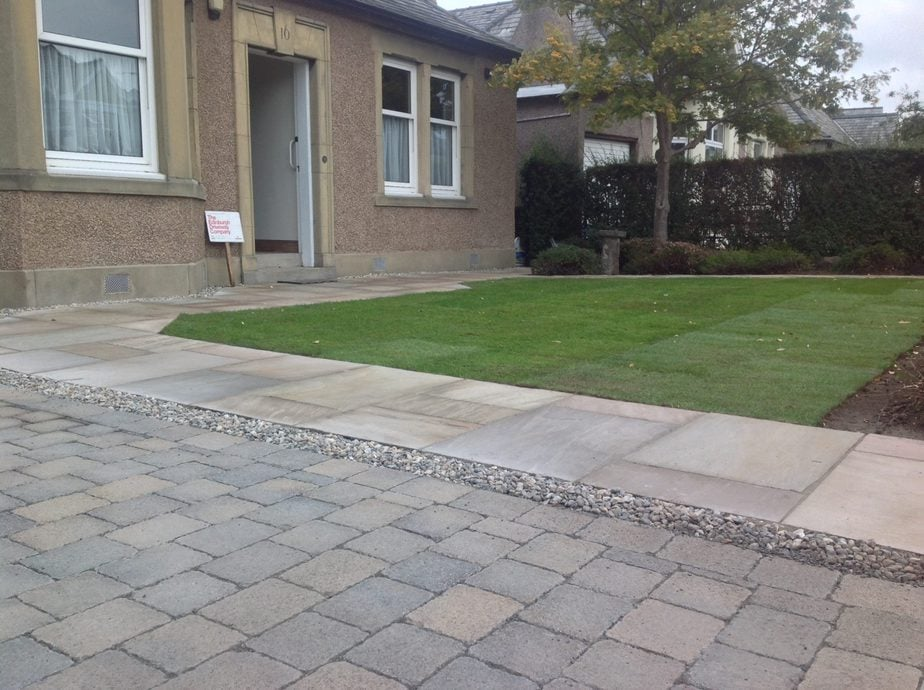 driveway and landscaping edinburgh