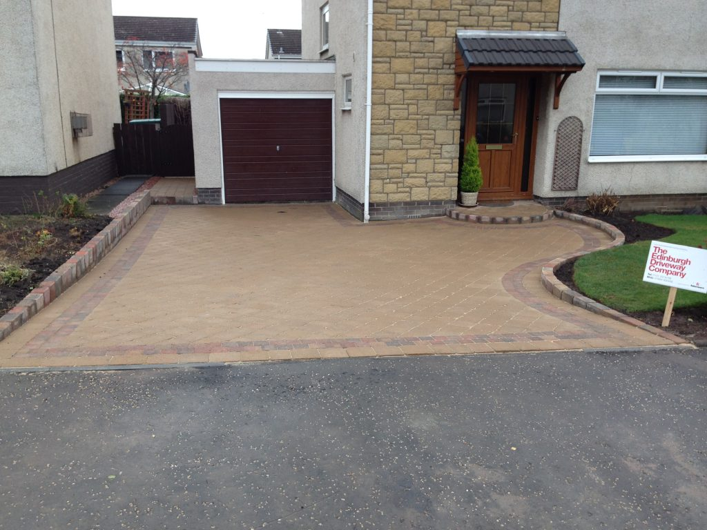 driveway tegula paving dalkeith eh22