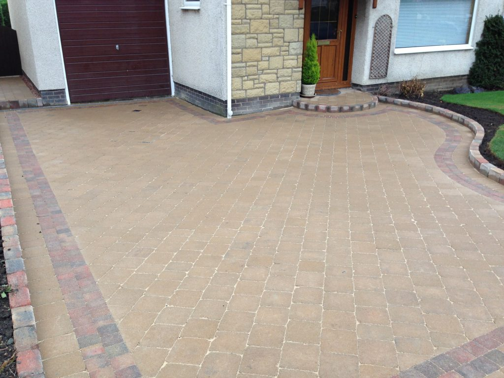 driveway and landscaping east lothian