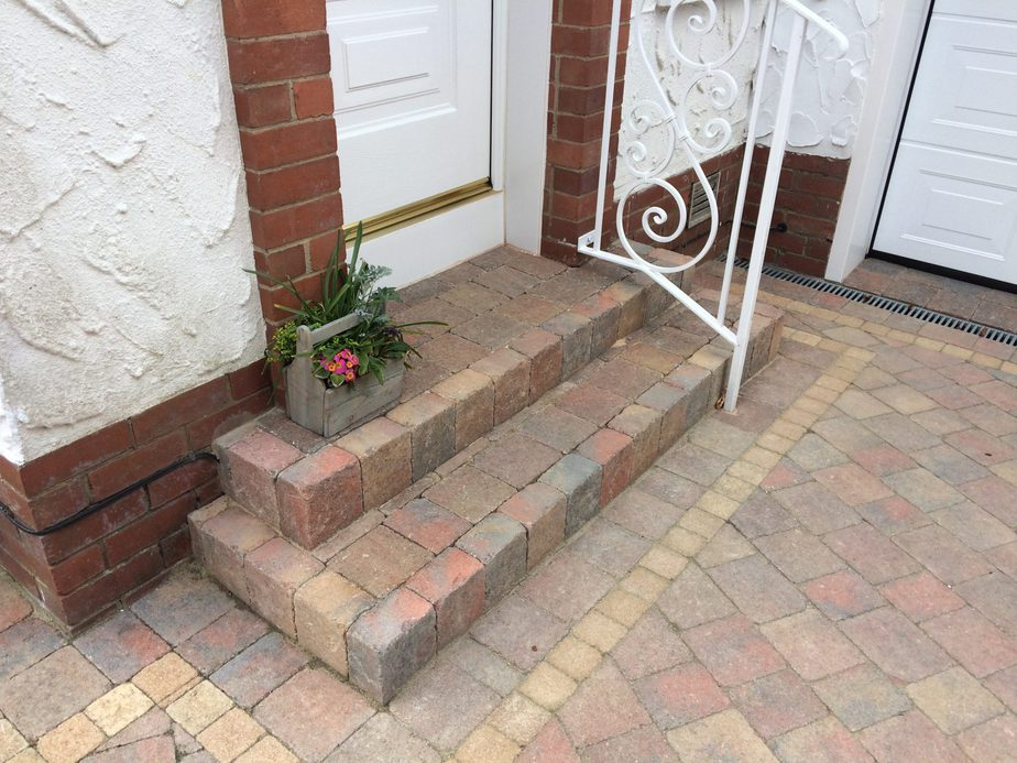 NEW STEP FOR DRIVEWAY